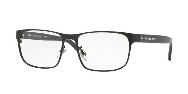 ee3aa663569 Burberry BE1302TD Asian Fit 1001 Glasses Black