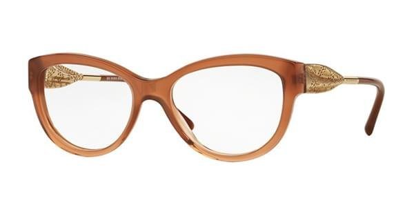 d81d564972 Burberry BE2210F Gabardine Lace Asian Fit 3173 Glasses Brown ...