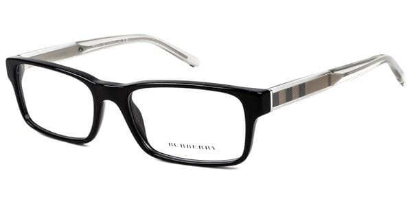21486c431df Burberry BE2223 3001 Glasses Black
