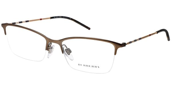 28af6ff187 Burberry BE1278 1012 Glasses Matte Brown