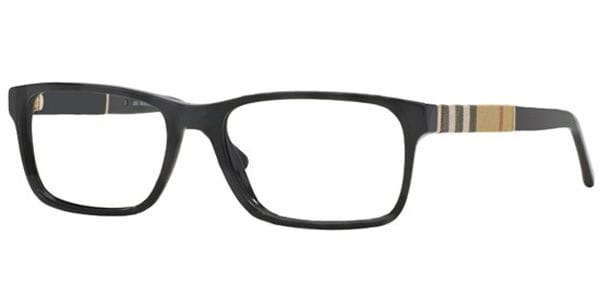b2014e7427a Burberry BE2162F Asian Fit 3001 Glasses Black