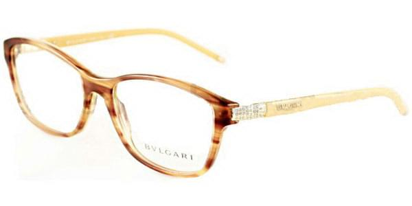5e52bc2d06 Bvlgari BV4070B 5240 Glasses Striped Brown