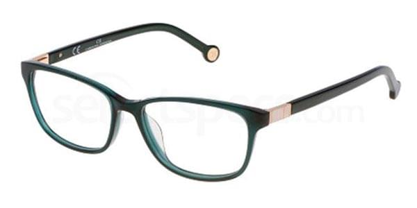 Carolina Herrera Vhe633 0j80 Glasses Green Smartbuyglasses India