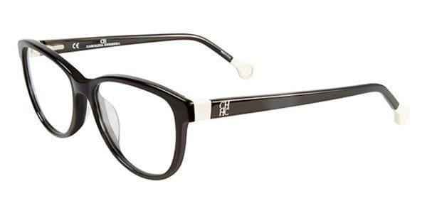 53233331b3 Carolina Herrera VHE678 0700 Glasses Black