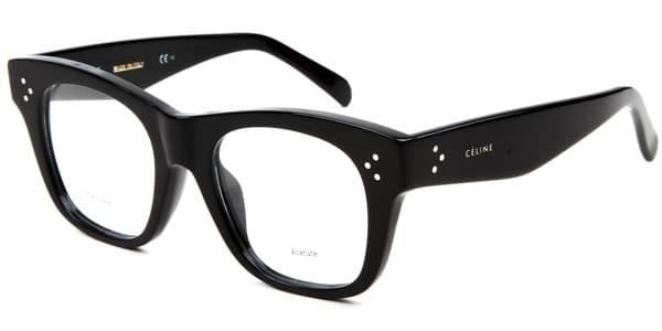 Celine CL 41367/F Cathrine Small Asian Fit 807 Eyeglasses in Black ...