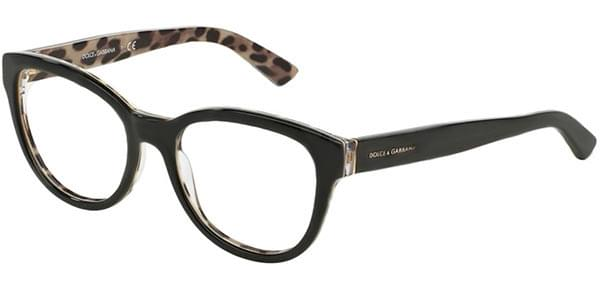 289cb1958c Dolce   Gabbana DG3209F Enchanted Beauties - Animalier Asian Fit 2857  Eyeglasses