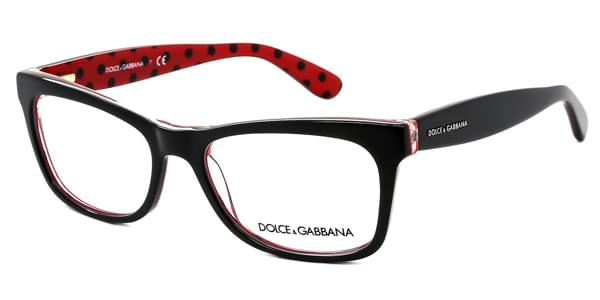Dolce   Gabbana DG3199 Pois 2871 Glasses Black Spotted On Red ... 1062e29337