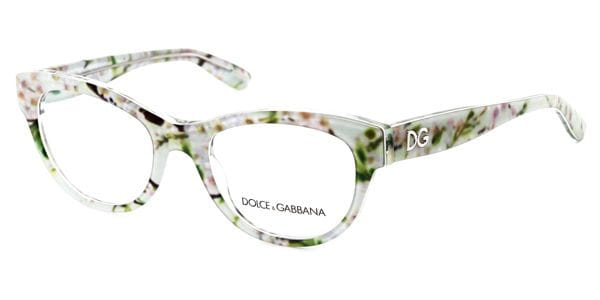0aee68940dc Dolce   Gabbana DG3203 Almond Flowers 2843 Glasses Mint Green Aqua ...