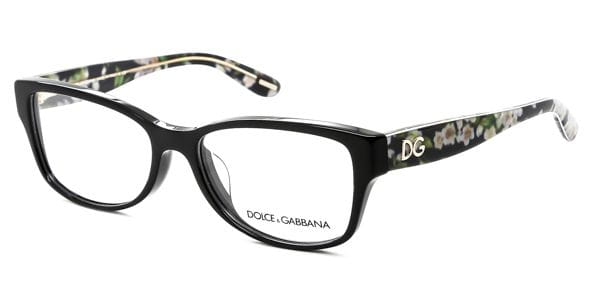 78678df1ea Lentes Opticos Dolce & Gabbana DG3204 Almond Flowers 2846 Negro ...