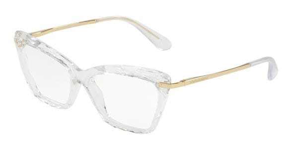 ac0a13fd2916 Dolce & Gabbana DG5025 Faced Stones 3133 Glasses Clear ...