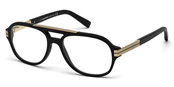 Lunettes Dsquared2 DQ5157 Brooklyn 002 Or   Easylunettes f5997ce004e0
