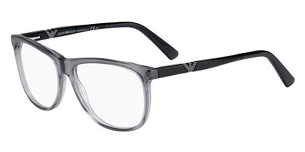 0e217148681 Emporio Armani EA 9844 P8K Eyeglasses in Grey Black ...