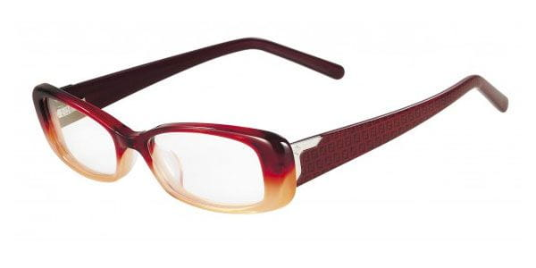 f64bab2a62 Fendi 967 602 Glasses Red Honey Gradient
