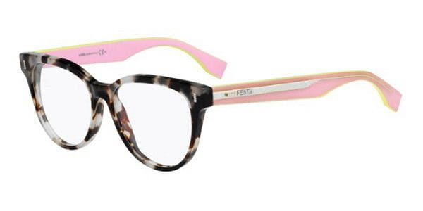 2693b697f0b7 Fendi FF 0164 COLOR BLOCK UEY Eyeglasses in Tortoise ...