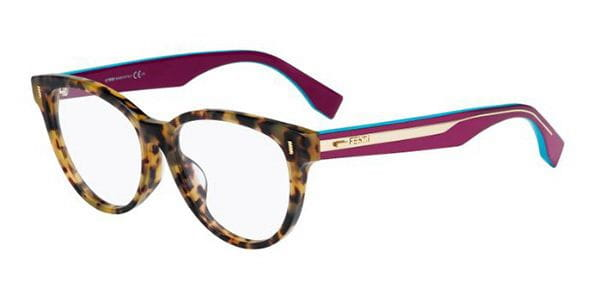 dc28a0c13a31 Fendi FF 0186 F Asian Fit VJH Eyeglasses in Tortoise ...