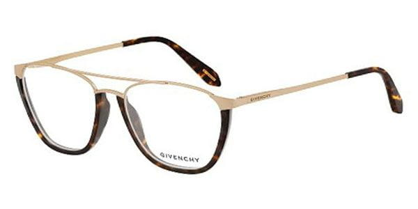 9e6961c6f3a13 Givenchy VGV442 0300 Eyeglasses in Gold Rose Polished ...