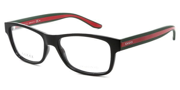 9244e677184 Gucci GG 1046 51N Glasses Black Green Red