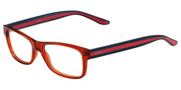 5248bb983d4 Gucci GG 1046 CUL Eyeglasses in Brick Blue Red