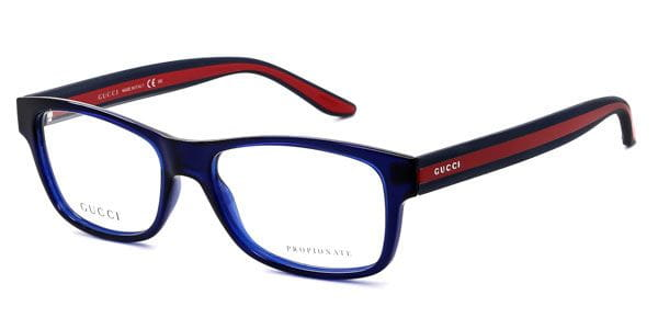 9252b0f6b8f Gucci GG 1046 CUO Glasses Blue Red