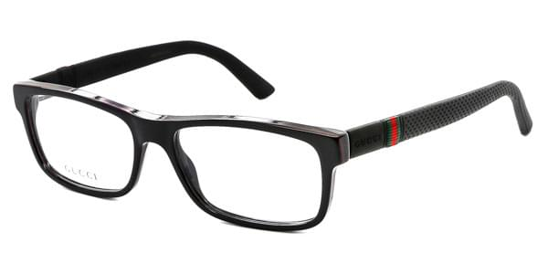 gucci gg 1066 4up eyeglasses in black smartbuyglasses usa