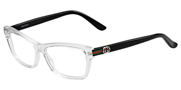 bb2e273c7f18 Gucci GG 3562 MNG 14 Eyeglasses in Crystal Black