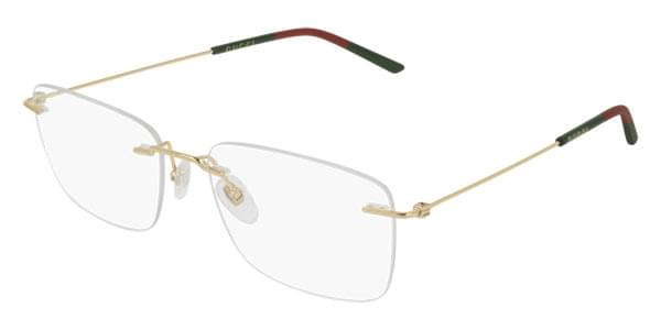 0e96ad2665 Gucci GG0399O 002 Glasses Gold