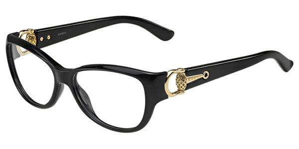 c0bed119081 Gucci GG 3714 D28 Eyeglasses in Shiny Black