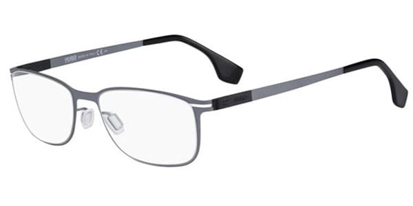 4758d98c9a Hugo 0098 R80 Eyeglasses in Dark Ruthenium
