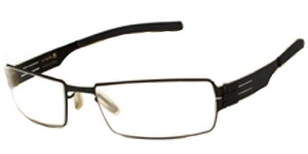 Ic! Berlin M1117 Greg BLK Eyeglasses in Black | SmartBuyGlasses USA