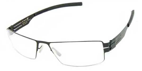 Ic! Berlin M1120 Hira BLK Glasses Black | SmartBuyGlasses Singapore