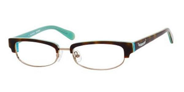 6d120abe215 Juicy Couture Gina G DJ1 Eyeglasses in Blue