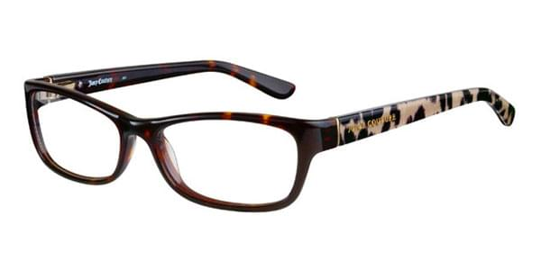 c7df3fc93a Juicy Couture JU 131 9OY Eyeglasses in Havana Black Spotted ...