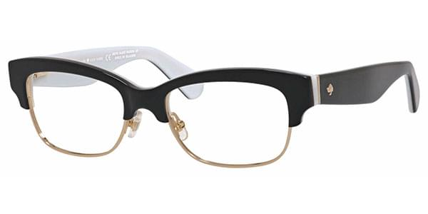 Eyeglasses Kate Spade Jonnie 0QOP Black White