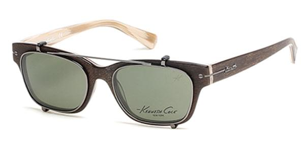 9a80fdaf0e7 Kenneth Cole New York KC0240 With Clip On 62R Glasses Brown ...