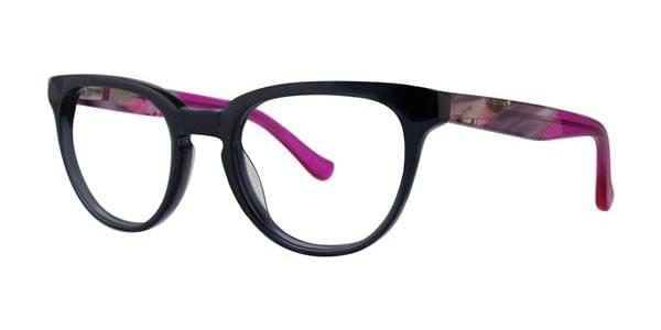 Kensie TRENDY SMOKE Glasses Black | VisionDirect Australia
