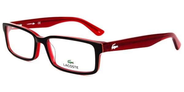 lacoste l2685 604 eyeglasses in burgundy smartbuyglasses usa