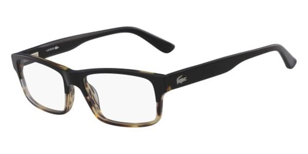 ed843ddcf8d Lacoste L2705 006 Glasses Black Clear Havana