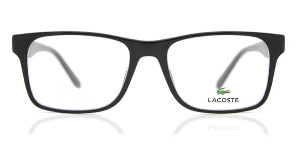 lacoste l2741 001 eyeglasses in black smartbuyglasses usa