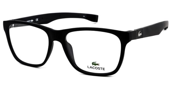 Lacoste L2713 001 Eyeglasses in Satin Black | SmartBuyGlasses USA