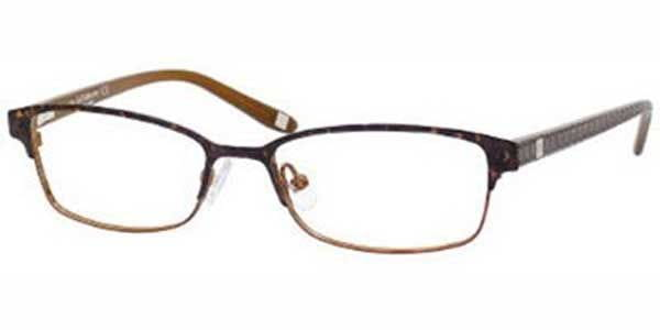 35dffefb05cb Liz Claiborne LC 367 0DC7 Eyeglasses in Demi Brown