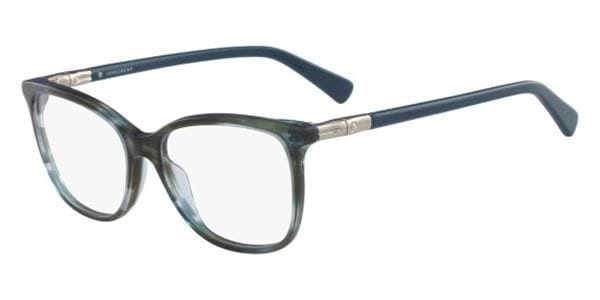 1afe55bf6c2 Longchamp LO2603 306 Eyeglasses in Blue
