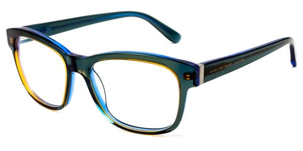 Lunettes Marc By Marc Jacobs MMJ 558 3ZL Transparent Blue Green ... 5825a9fb1340
