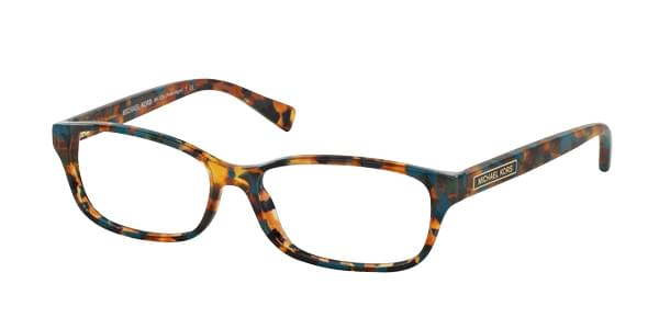Michael Kors MK4024 PORTO ALEGRE 3068 Womenâs Eyeglasses Blue Size 53 (Frame Only) - Blue Light Block Available