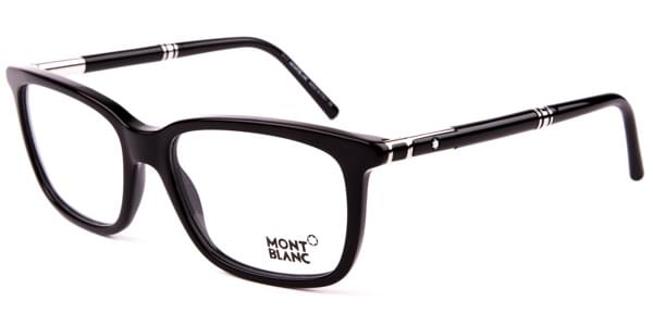 bc3d2867c9 Mont Blanc MB0489 001 Glasses Black