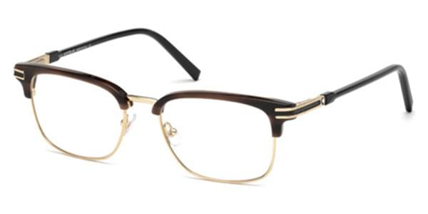 Mont Blanc Mb0669 048 Eyeglasses In Gold Smartbuyglasses Usa