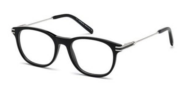 06506d5c09 Mont Blanc MB0724 001 Eyeglasses in Black