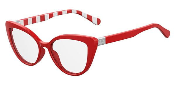 588dad2a0e Moschino Love MOL500 C9A Eyeglasses in Red
