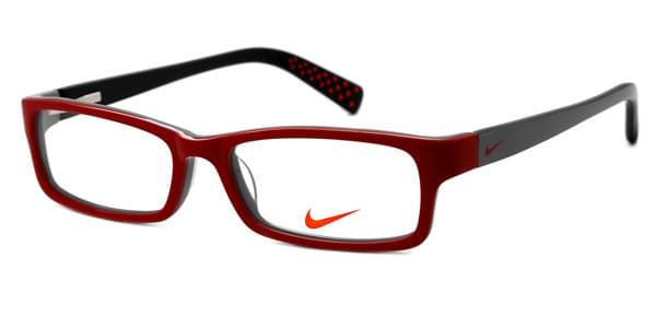 1d8bef43463 Nike 5514 Kids 605 Glasses Red Grey Black
