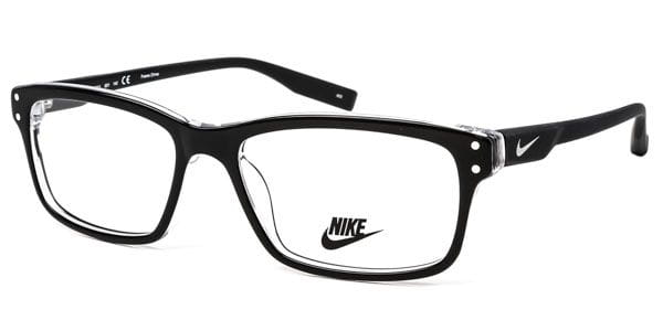 8dc664bc74 Nike 7231 001 Eyeglasses in Shiny Black