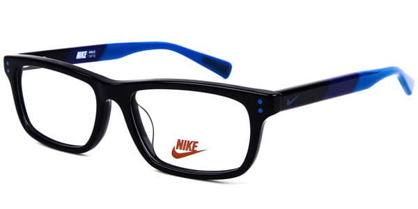 2b3b360588a4 Nike 5535 Kids 412 Glasses Black | VisionDirect Australia